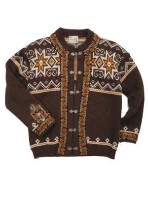 56cea039c5b Brown Mix Bavarian Cardigan   moodboards in 2019   Brown outfit ...