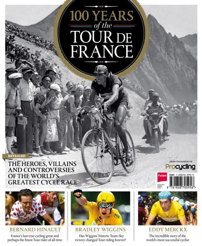 Le Tour 100 Mag Cover Image Tour De France Tours Tour Posters