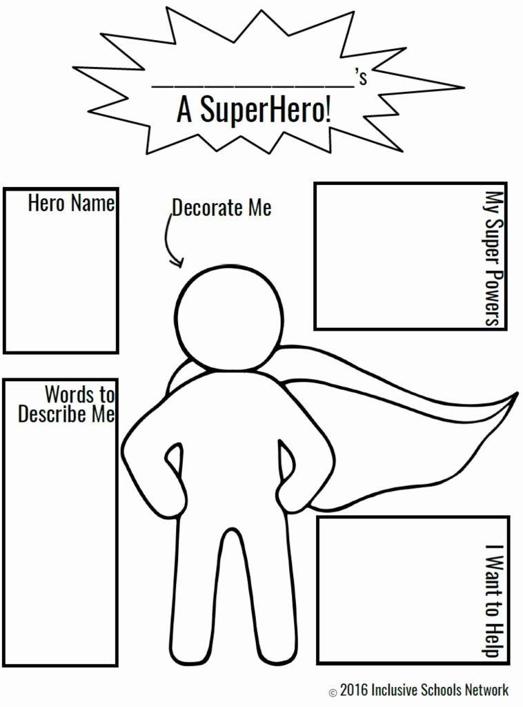 - Superhero Create Your Own Coloring Pages For Kids In 2020 Superhero  Preschool, Superhero Classroom Theme, Superhero Classroom
