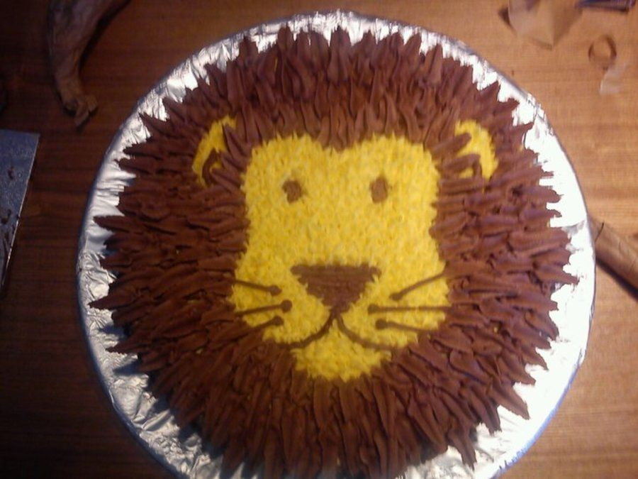 Lion Cake Lion Birthday Cake Lion King Cakes Lion Guard