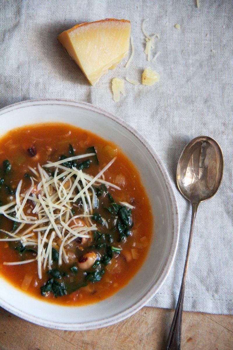 Detox new year's day soup via Anne Sage
