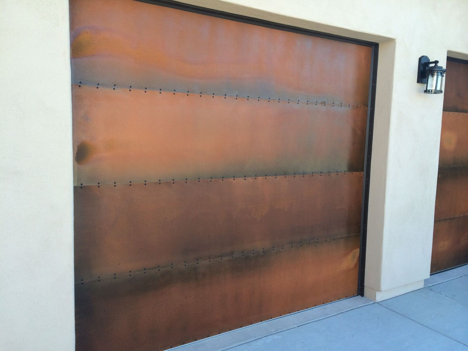 Custom Steel Clad Garage Doors Built By Door 48 In Arizona
