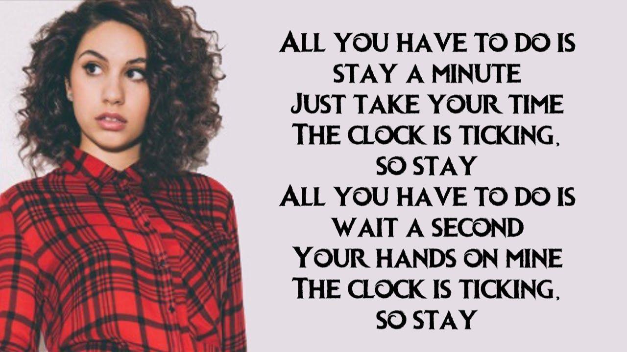 Zedd Feat Alessia Cara Stay Lyrics By Cimorelli Alessia