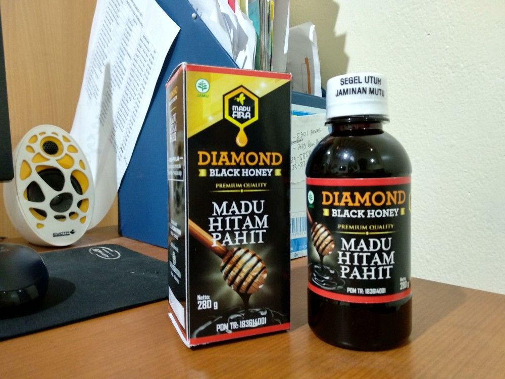 081383465701 Diamond Black Honey adalah madu hitam pahit