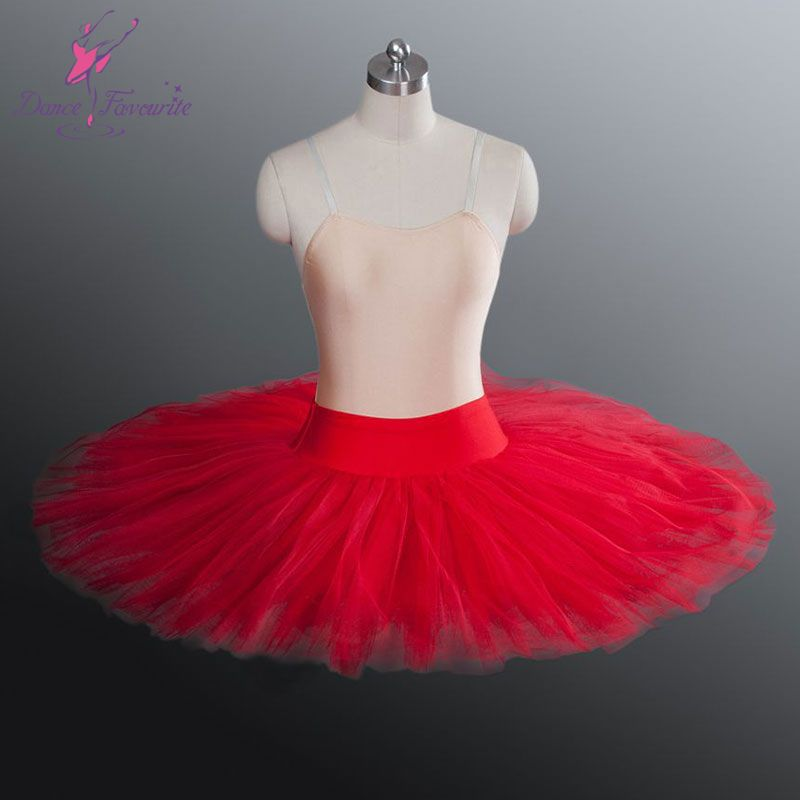 Skirt Leg On Sale At Reasonable Prices Buy WholesaleTop Quality Half Tutu Red Color Ballet Dance Practicing For Child Adult Soft Tulle
