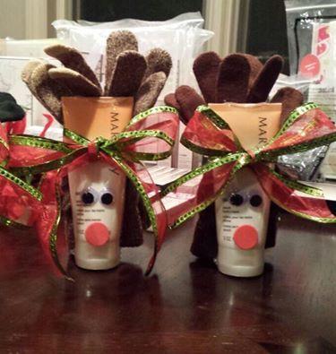 Love reindeer? Here's a super cute gift idea - hand cream ...
