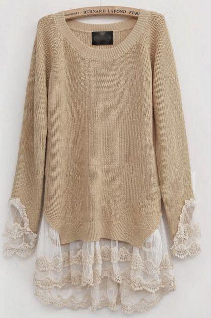 Идея переделки свитера и юбки