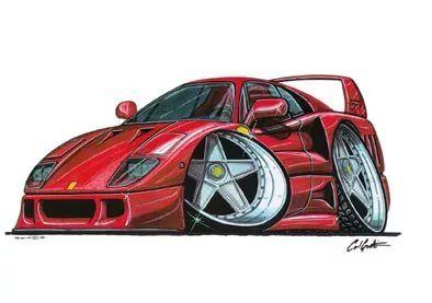 Pin By Kevin On Cartoons Car Illustration Car Drawings Car Sketch