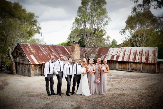 Country Weddings Bridal Party Elegant Wedding Shabby