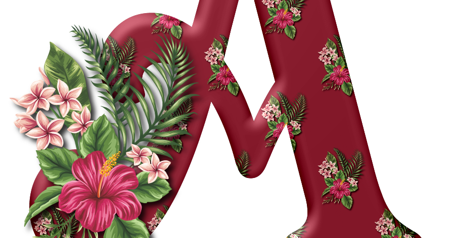 Pin By Melody Matherine Bourgeois On Letters In 2020 Tropical Flowers Tropical Flowers Hawaii Alphabet