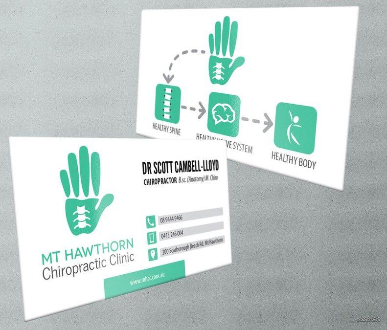 physiotherapist business card design australia - Google Search ...