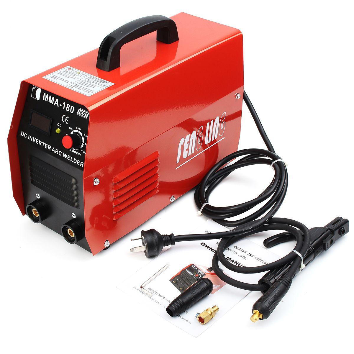 Handheld Ac110 220v 20 180a Adjustable Igbt Inverter Electric
