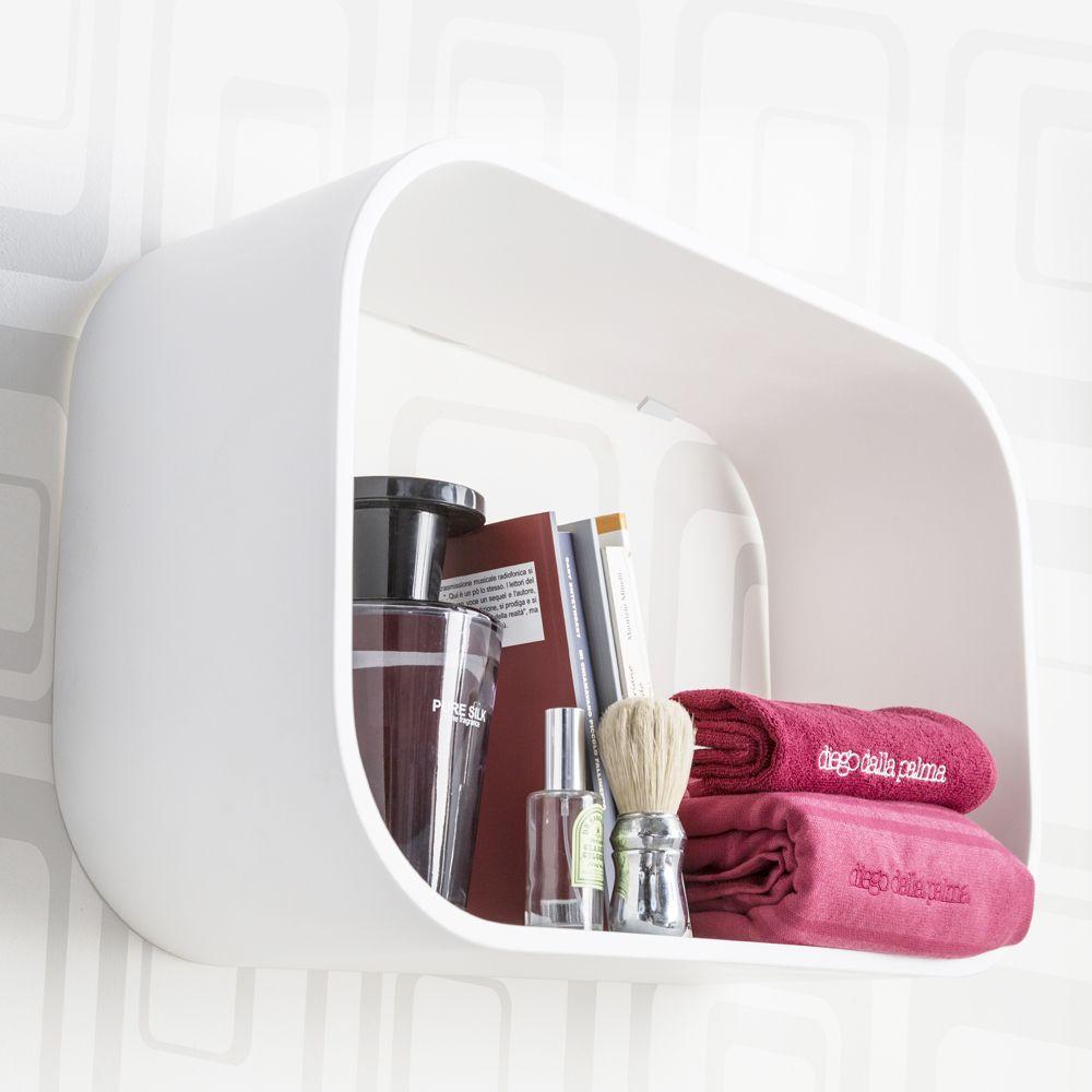 Ablage badezimmer einrichtung modernes italien ideen weiße diamanten gadgets euro regale