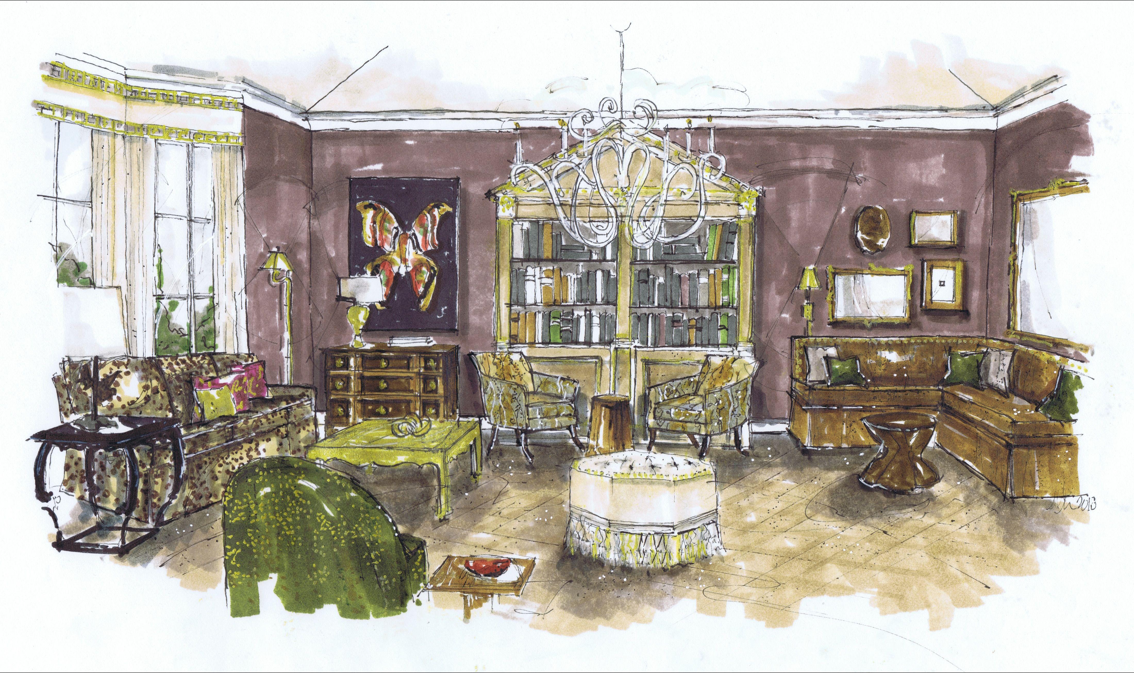 Exterior: House Beautiful Instant Room, October 2012, MMR (Melissa