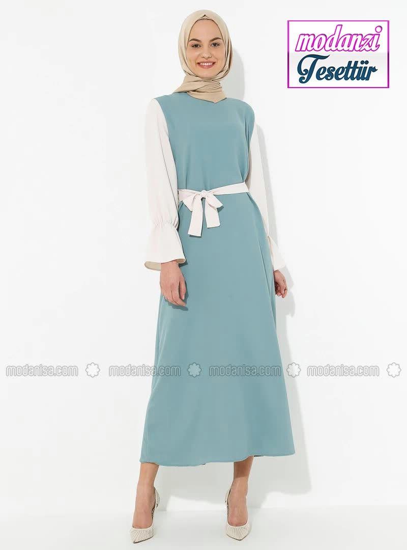 Modanisa Elbise Modelleri 2020 Garnili Elbise Nefti 2020 Elbise Modelleri Elbise Moda Stilleri