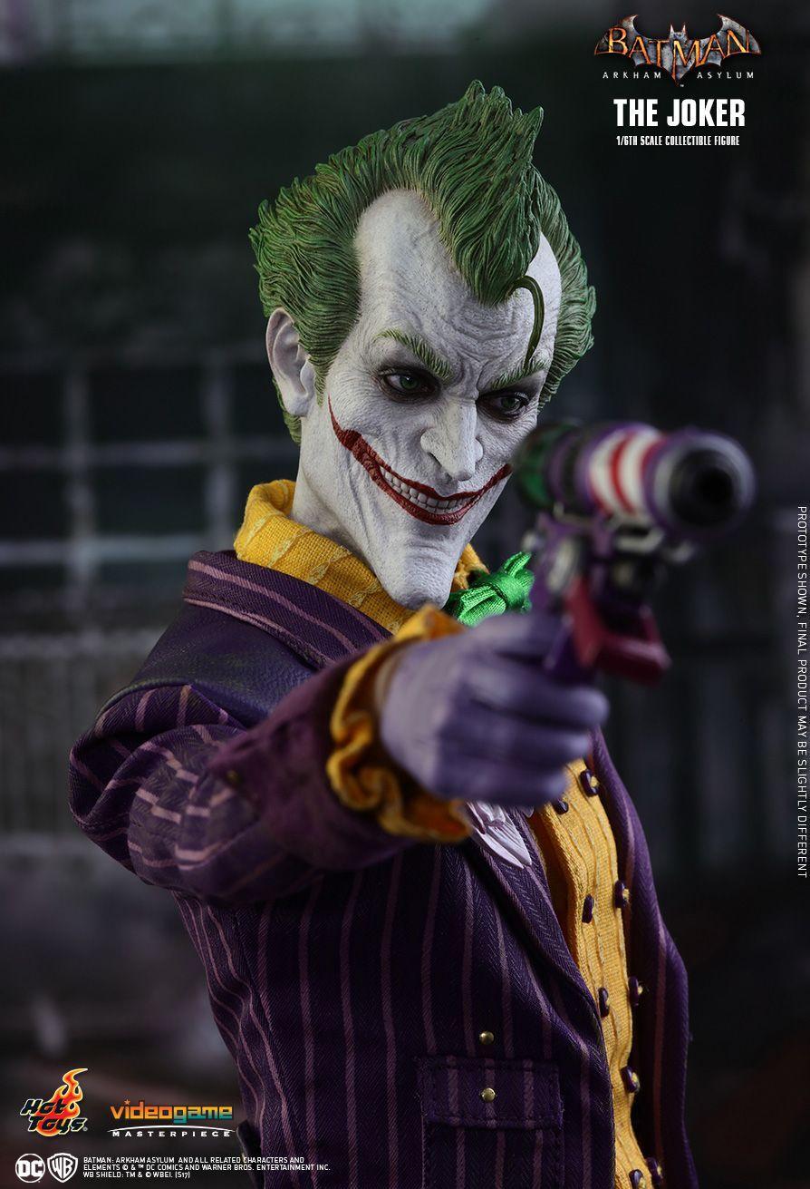 5992e1596042 Hot Toys   Batman  Arkham Asylum - The Joker 1 6th scale Collectible Figure