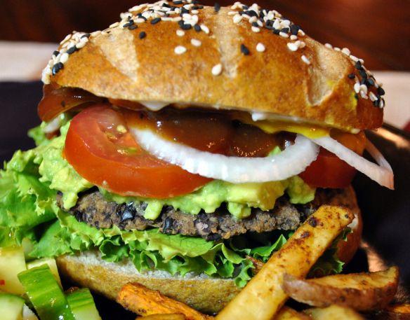 Black bean burgers, get in my belly