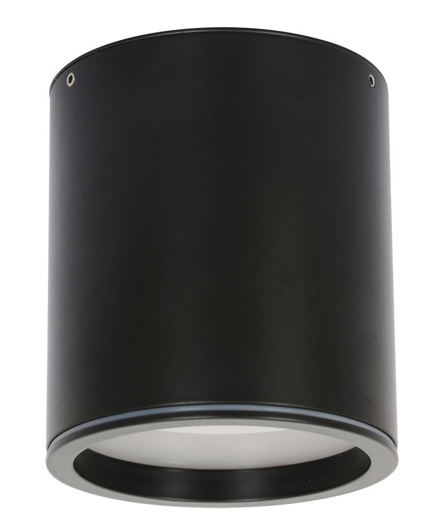 For Porch 4grid In Living Around Fan Ledlux Surface 100mm Dimmable Downlight In Black Downlights Lighting Led Lights