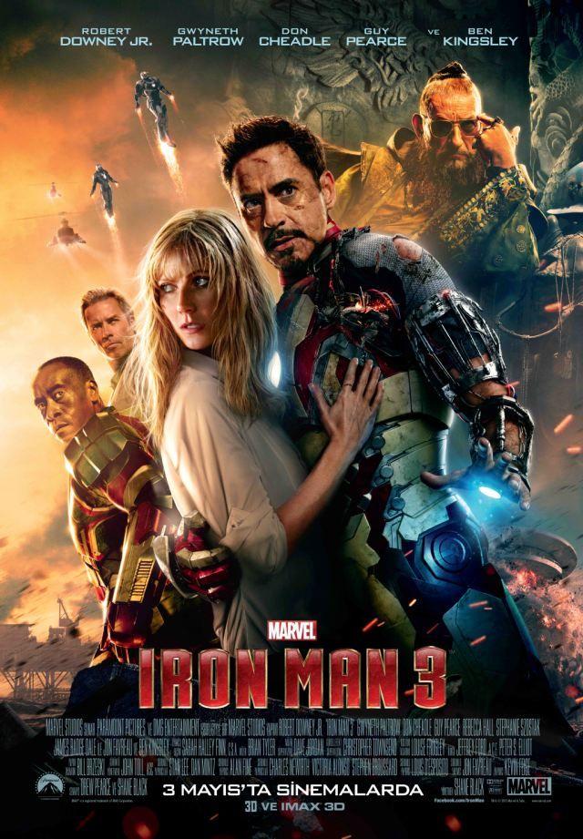 Demir Adam 3 Turkce Dublaj Izle Iron Man Bilim Kurgu Film
