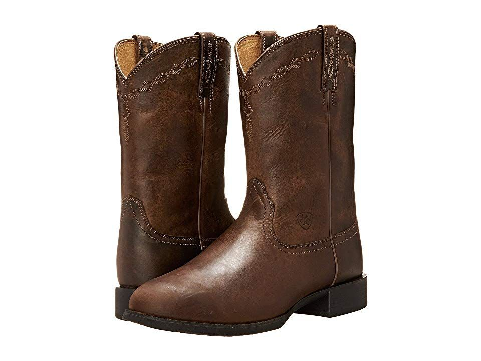 ec7006250fa Ariat Heritage Roper (Distressed Brown) Cowboy Boots. The perfect ...