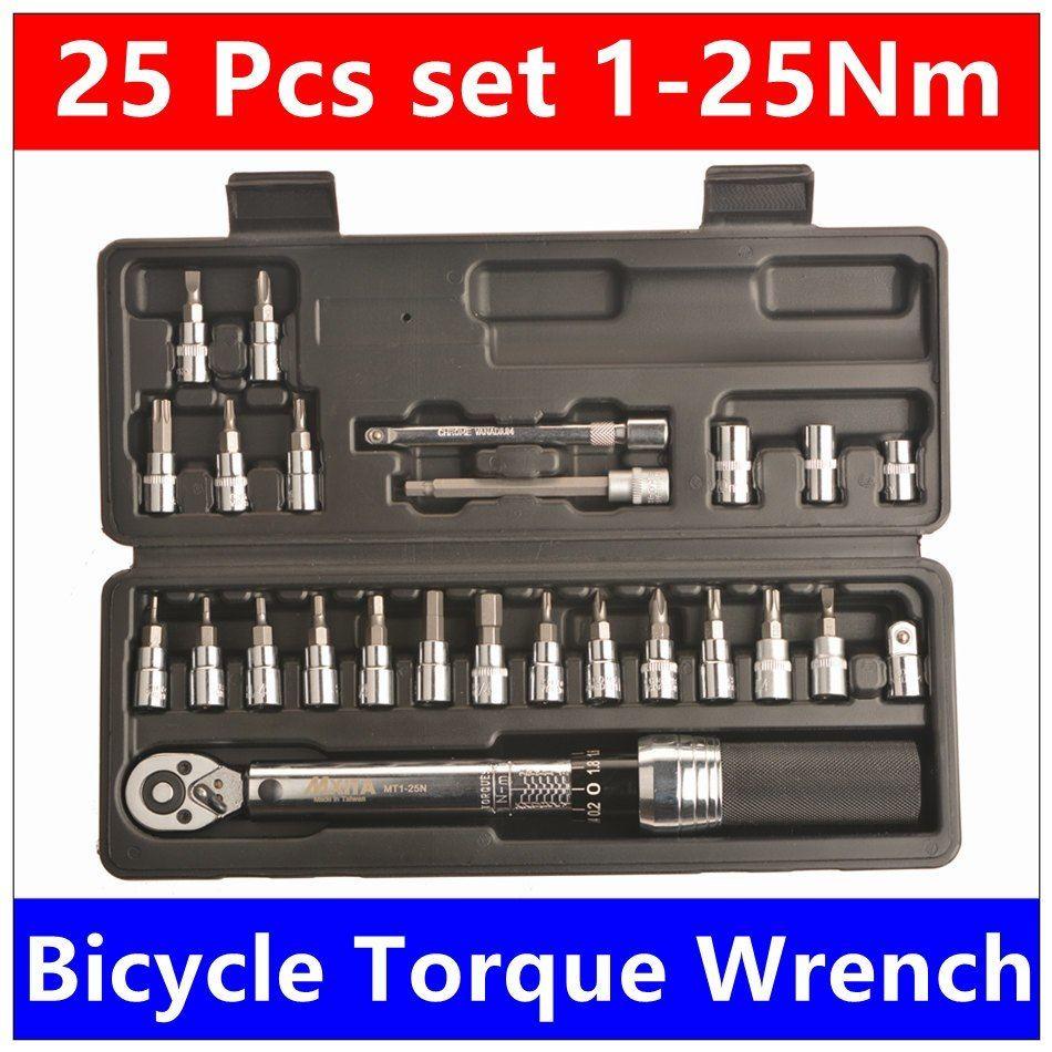 Barato Mxita 1 4 Dr 1 25nm 25 Unids Torsion Bicicletas Kit De