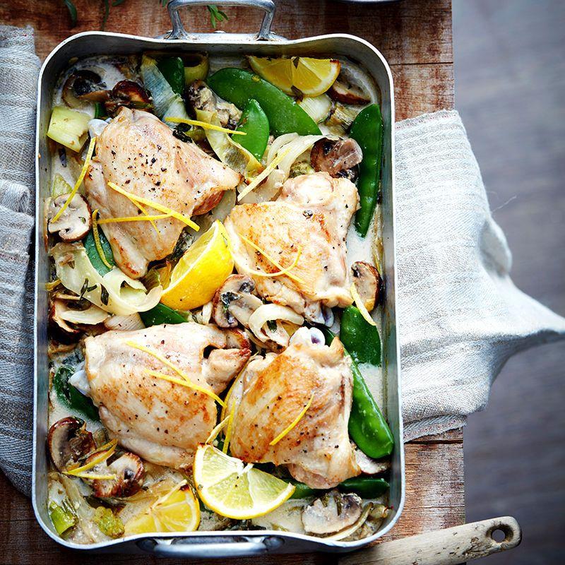 Lemon Tarragon Baked Chicken Healthy Recipe Ww Australia Recipe Healthy Chicken Recipes Recipes Healthy Chicken