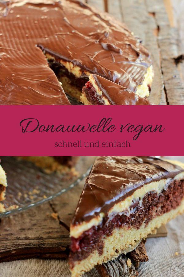 Mein Rezept für Donauwelle vegan - weils einfach super schmeckt - schnelle vegane küche