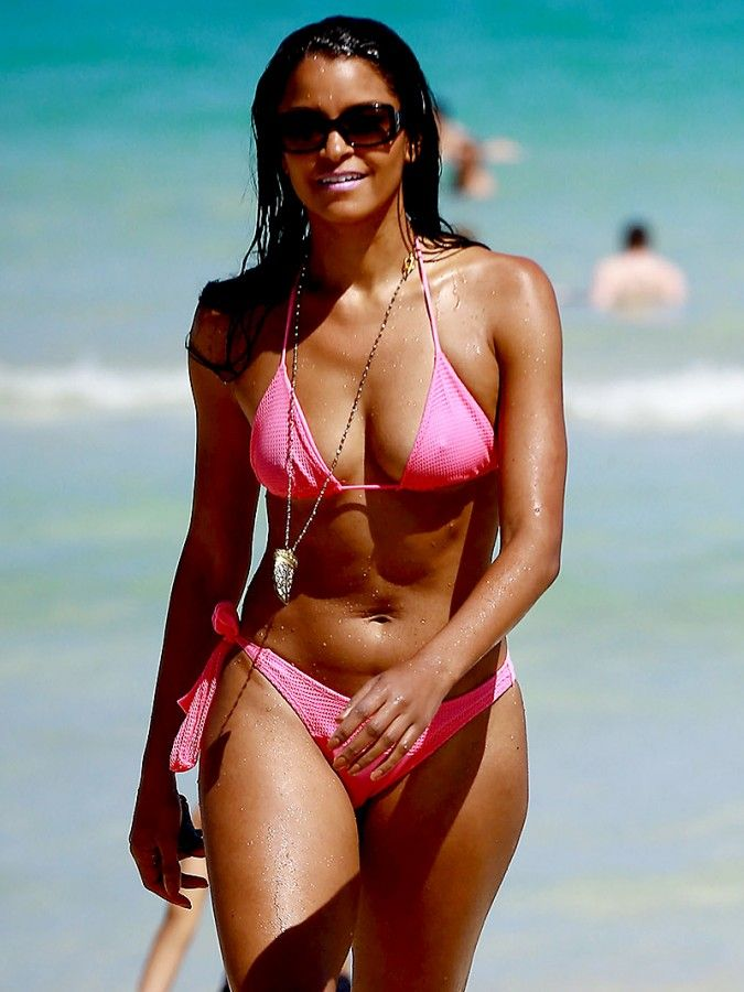 Personal messages claudia jordan bikini has