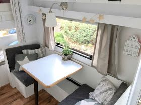 Photo of Lucky feather: white nails with heads: This is how we renovated our caravan …