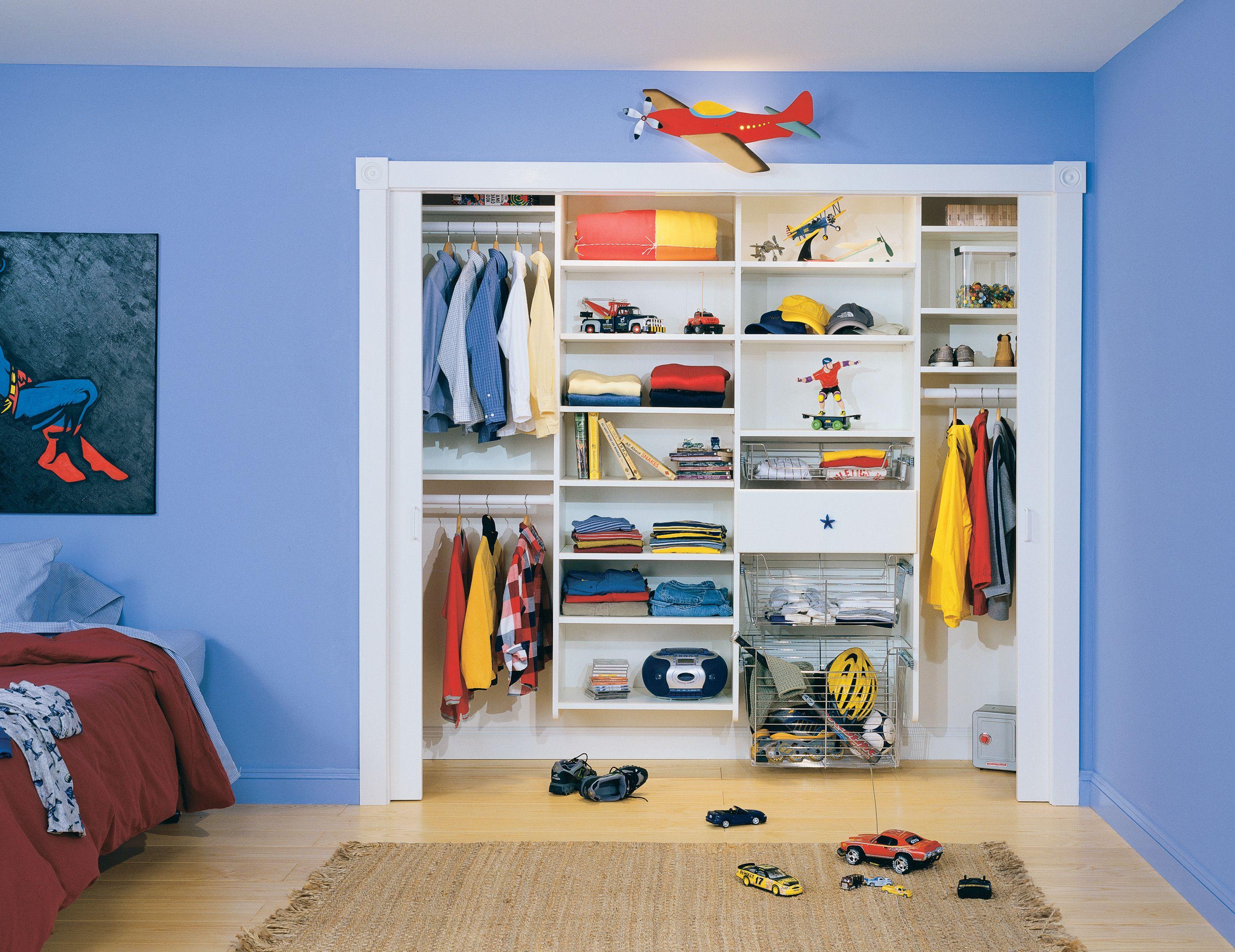 Kidsu0027 Closets U0026 Teen Closets   Storage Solutions U0026 Organization Ideas