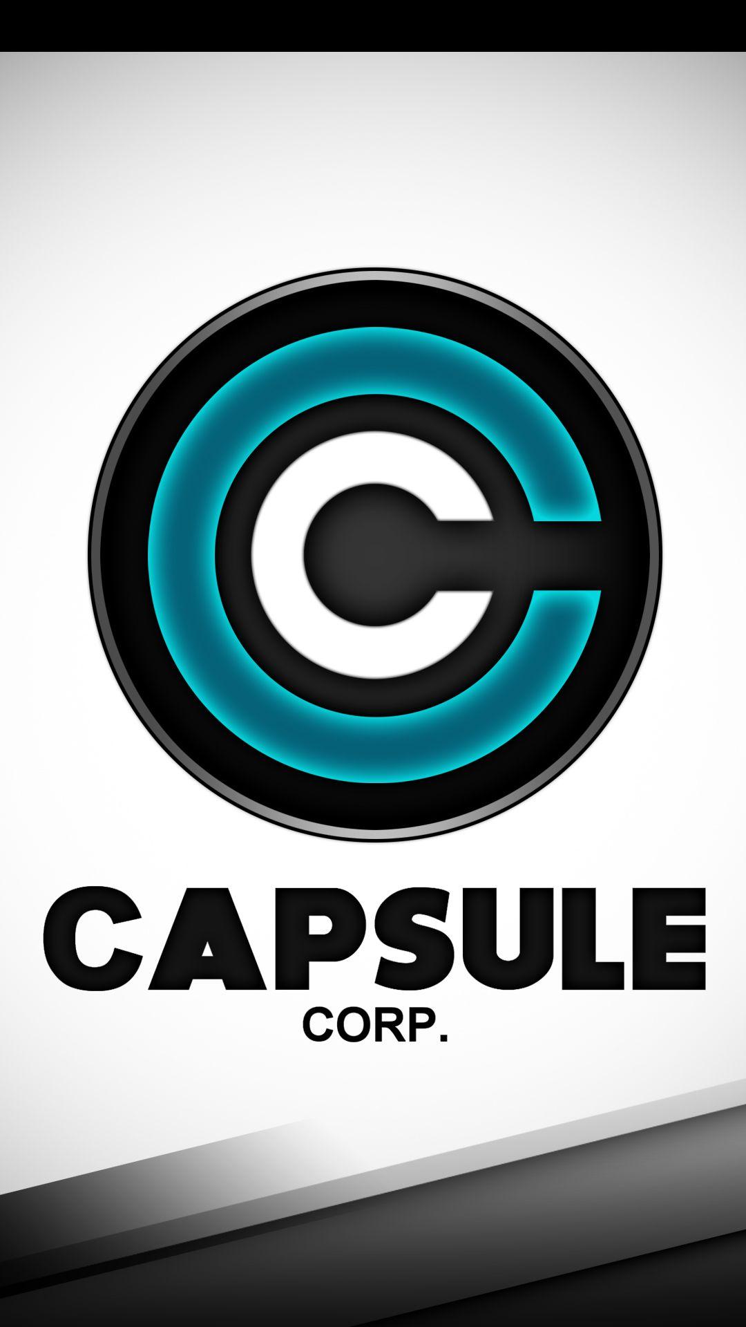 Revamped Capsule Corp Phone Wallpaper