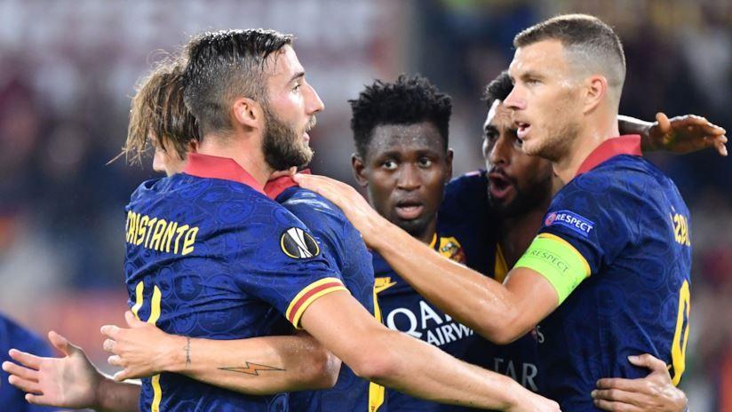 Europa League Roma in festa, il Cluj manda al tappeto la