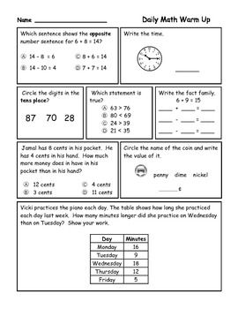 Math For Second Grade First Trimester 1st Grade Mathematics