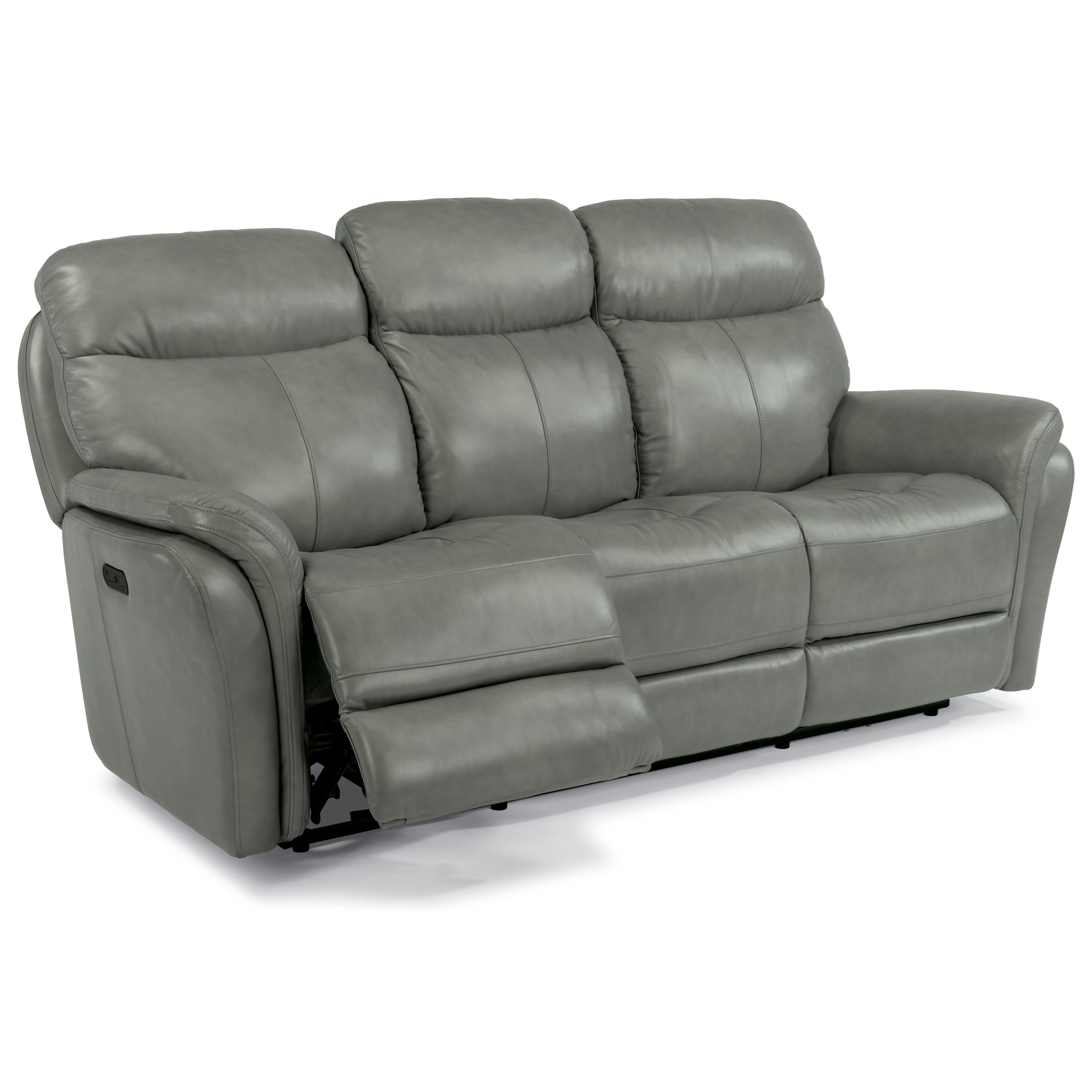 Latitudes Zoey Power Reclining Sofa With Power Headrest And Usb