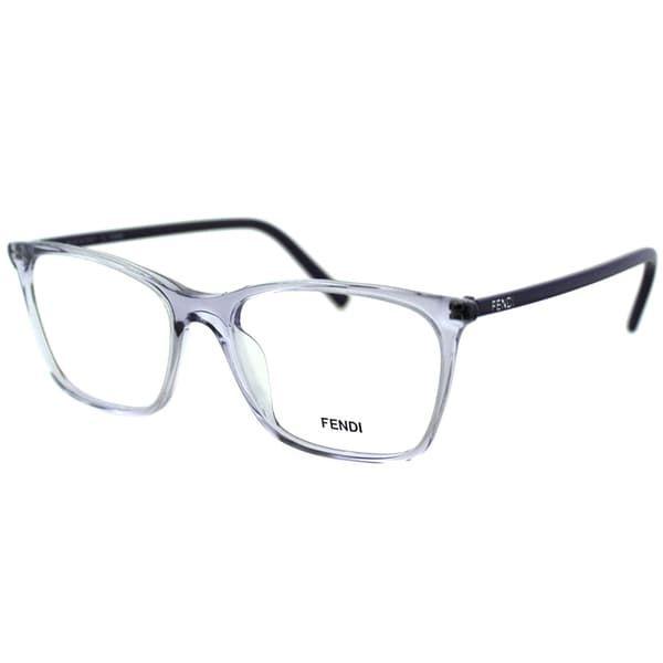 aed0ae90262d Fendi Women s FE 946 516 Clear Translucent Plastic Eyeglasses in ...