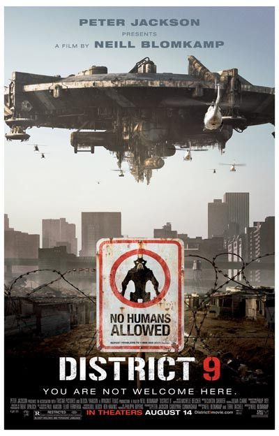 A great poster from the 2009 Neill Blomkamp movie District 9! Ships fast. 11x17 inches.