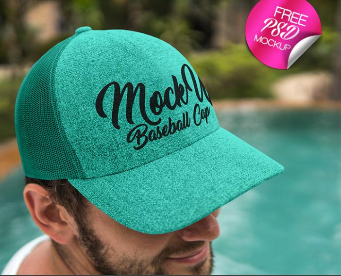 Download Trendy Baseball Cap Psd Mockup For Free Mockup Psd Mockup Baseball Cap