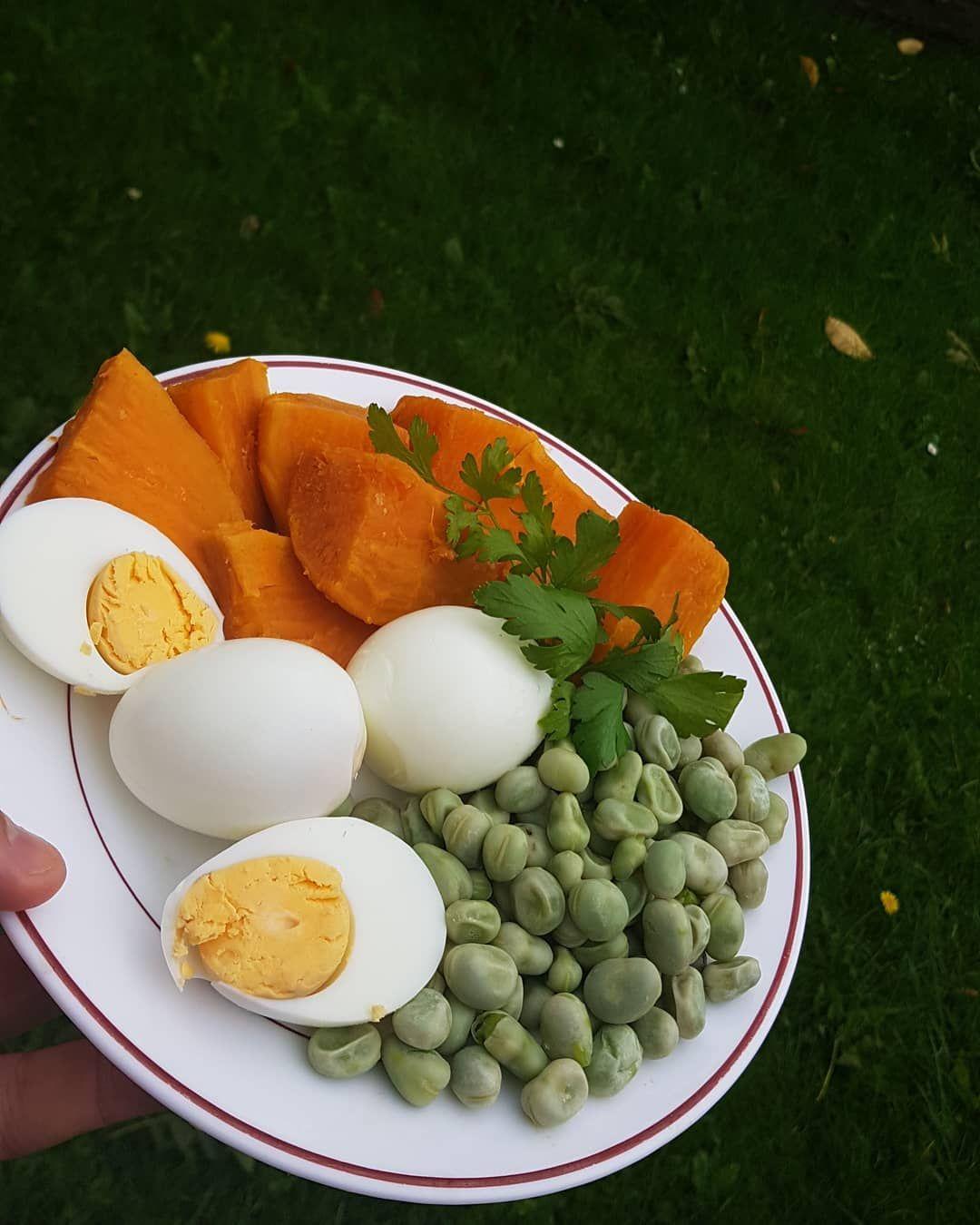 #healthy #avondeten #patata #vegetables #eten #❤ #proteins💪 #fit #fitnessfood #fitness #groenten #ve...