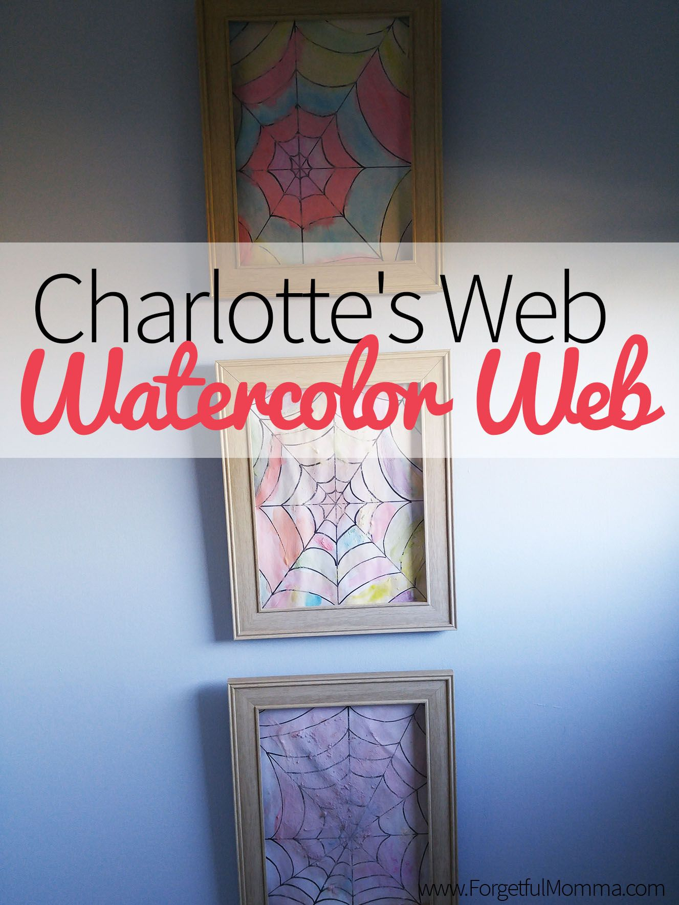 Charlotte\'s Web - Watercolor Web | Pinterest