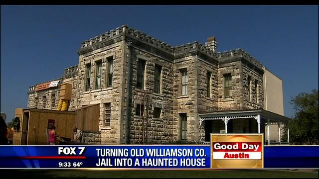 Old Williamson County Jail turns into haunted house | Austin/Texas