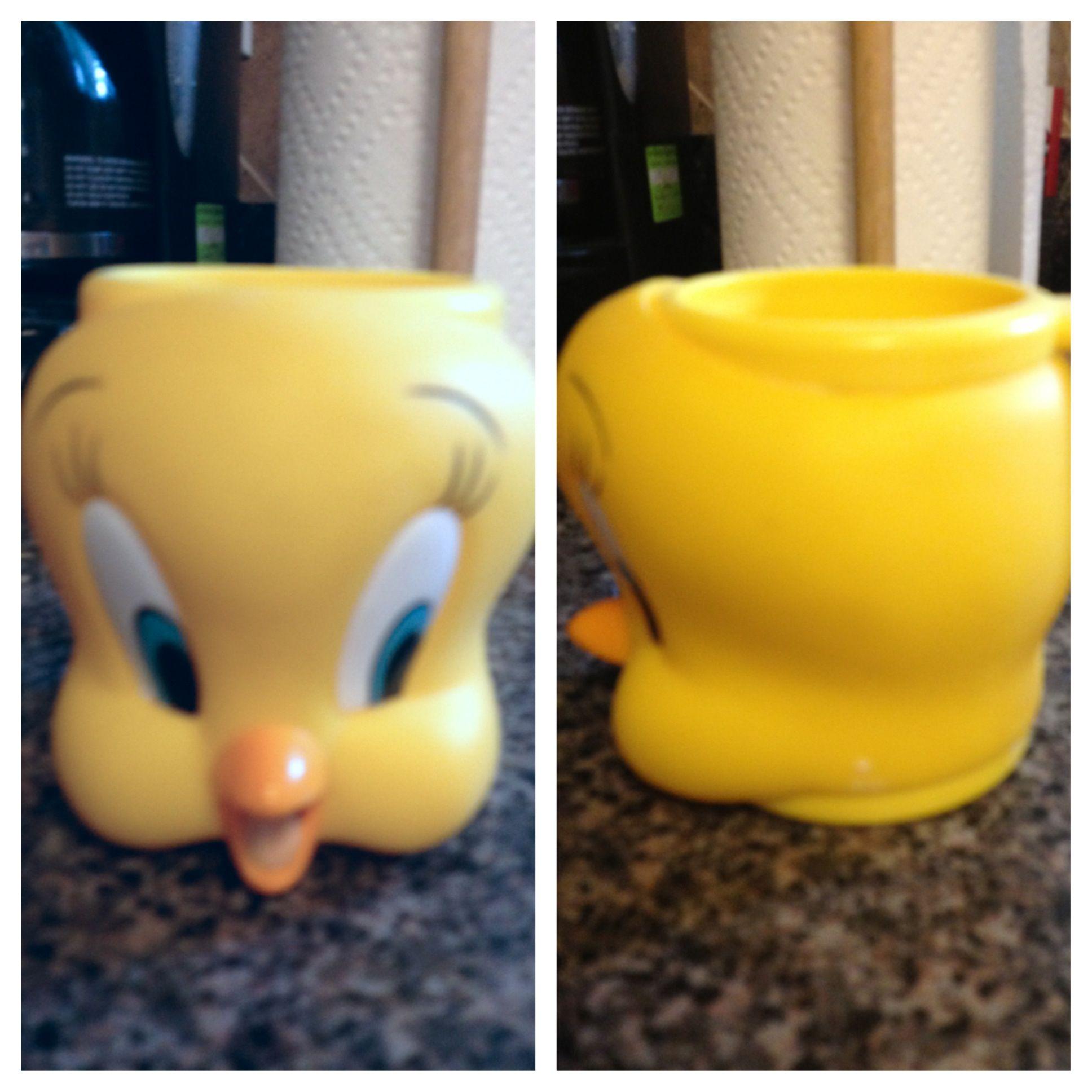 Tweety bird mug! From when I was a little girl