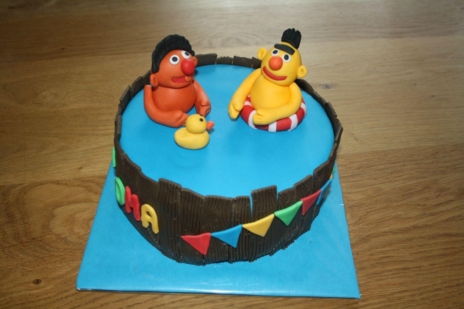 taart bert en ernie Bert en ernie taart | Cake | Pinterest | Cake taart bert en ernie