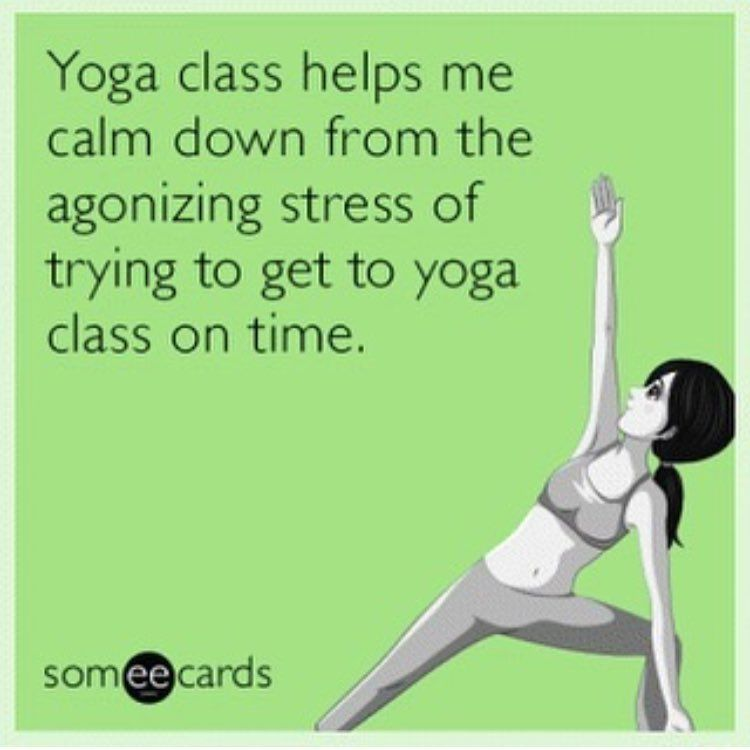 See this instagram photo by yogimemes 3375 likes yoga free and funny cry for help ecard yoga class helps me calm down from the agonizing stress of trying to get to yoga class on time m4hsunfo