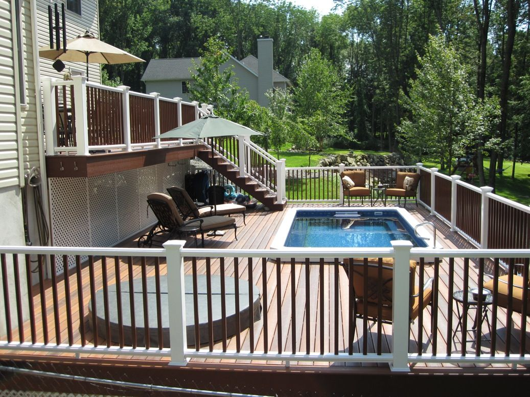 Beautiful Deck Beautiful Endless Pool In 2019 Above