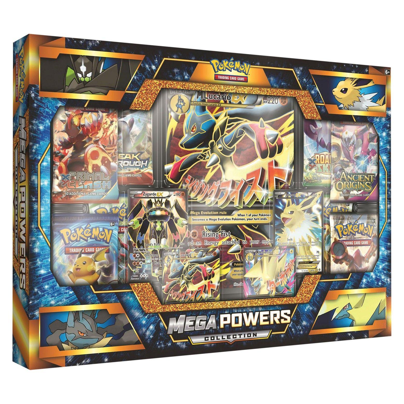 2017 Pokemon Trading Cards Mega Powers EX Box