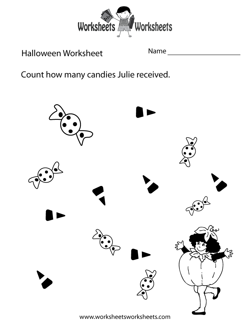 Worksheets Halloween Worksheets halloween counting worksheet printable worksheets legacy printable