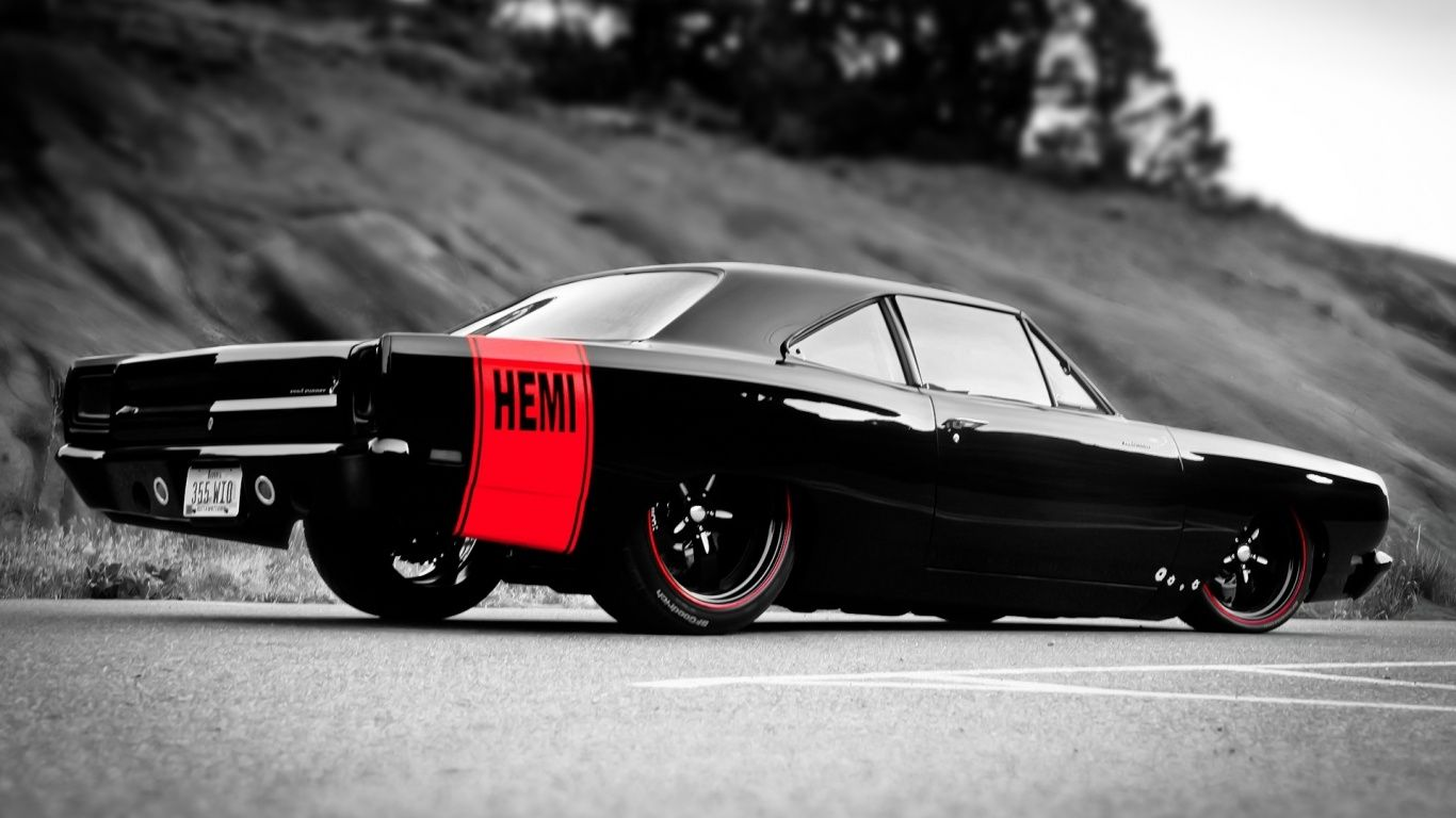 MUSCLE CARS Muscle Car Hemi Wallpaper in 1366x768