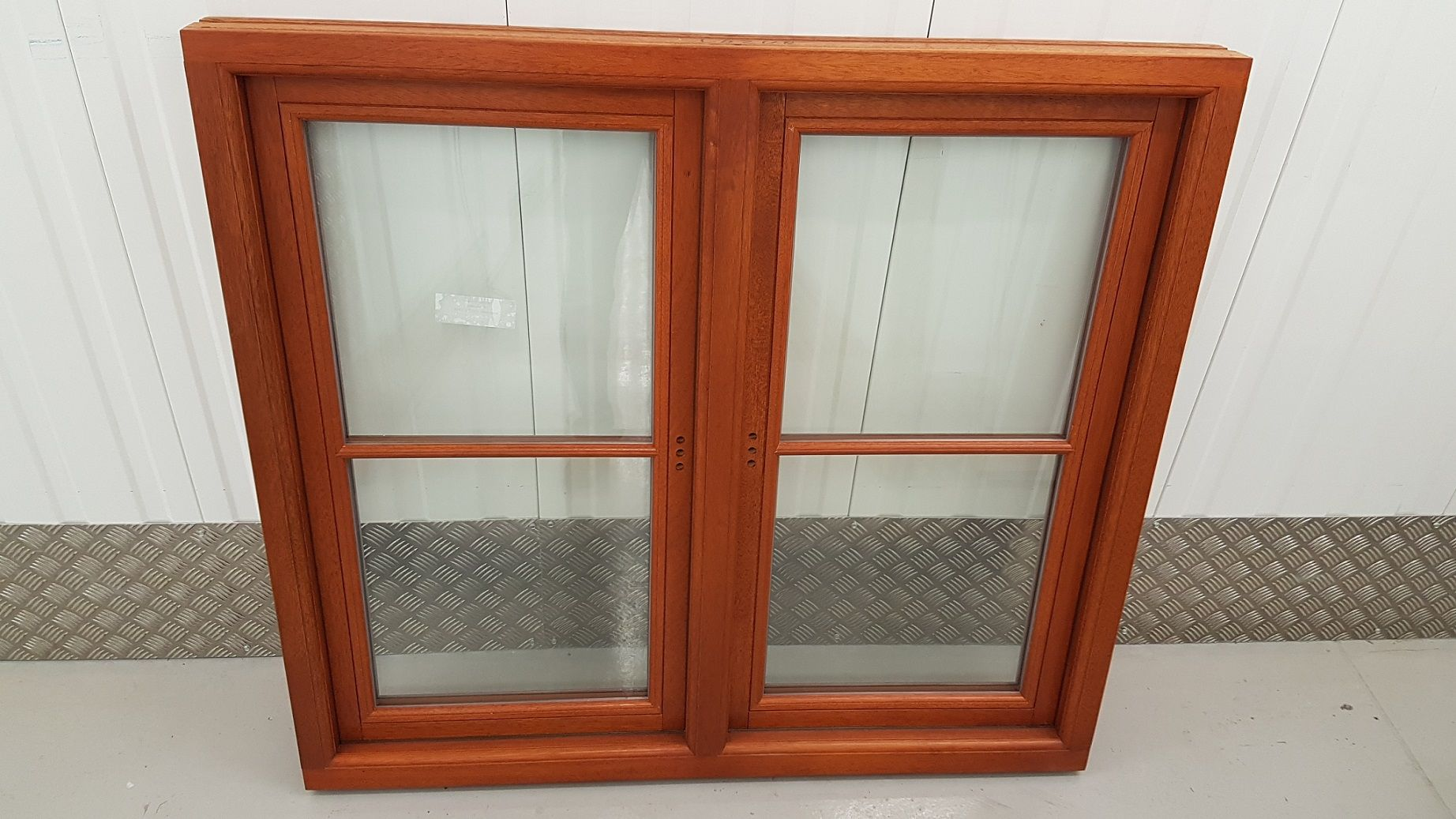 Hardwood Double Casement Window Supplied By Timber Windows Direct