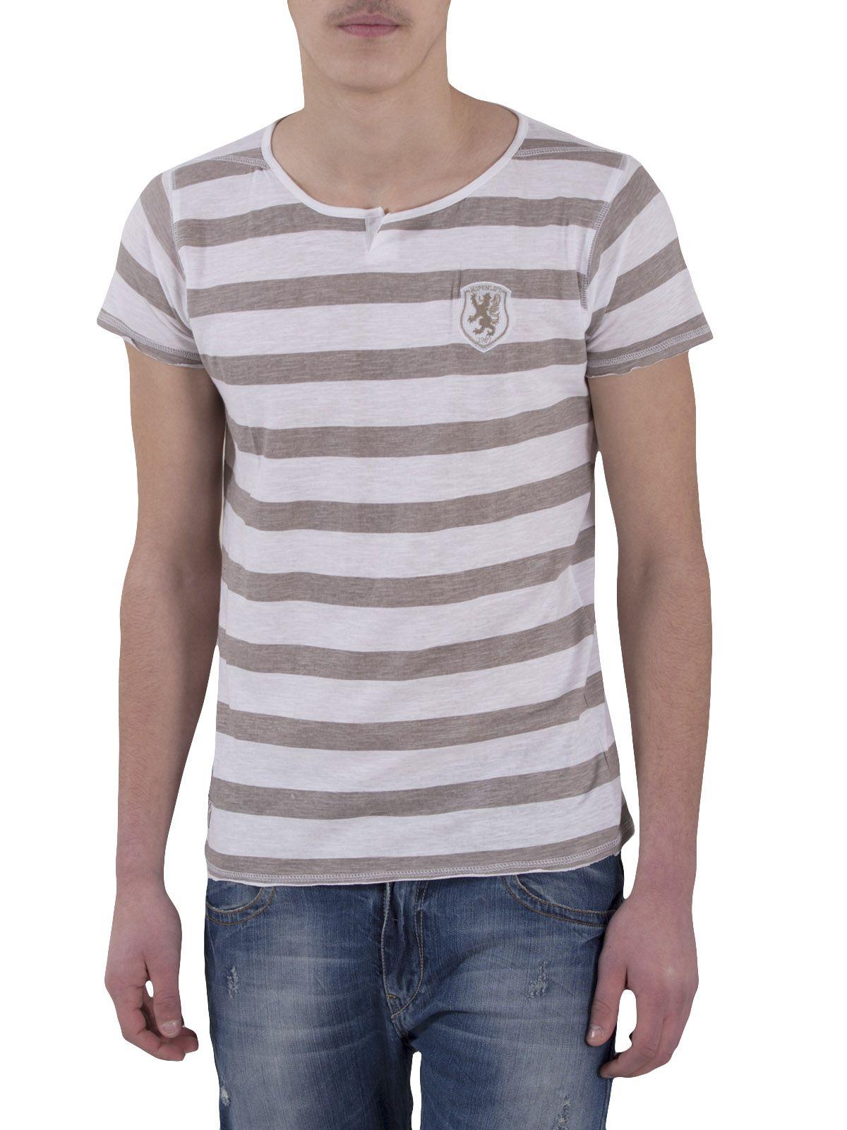 Ριγέ Ανδρική Μπλούζα με Κοντά Μανίκια - http://rouxa24.gr/rige-andriki-blouza-me-konta-manikia/