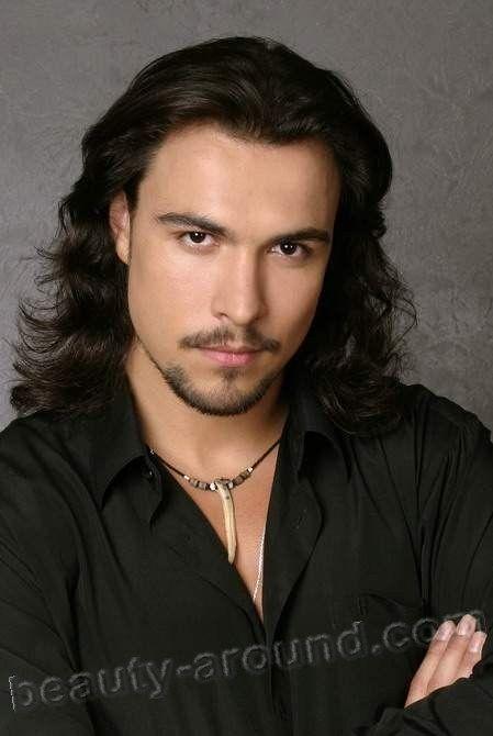 Handsome Russian Actors Top 25 Photo Gallery Long Hair Styles Men Russian Men Dark Haired Men
